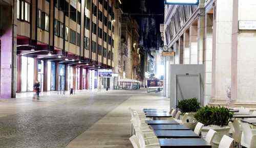 coprifuoco Milano