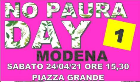 No Paura day 1 a Modena