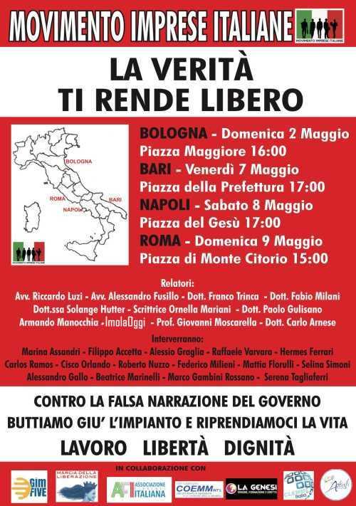 Movimento Imprese Italiane: LA VERITÀ TI RENDE LIBERO