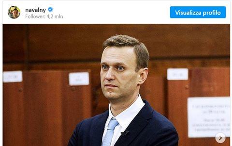 Navalny sciopero della fame