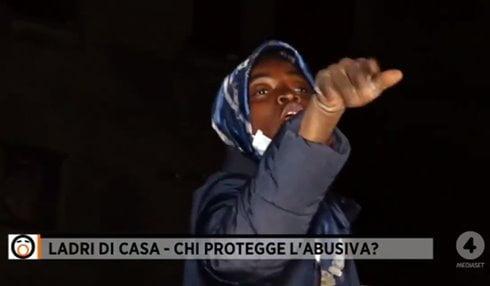 nigeriana ladri di casa