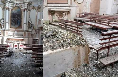 San Demetrio, chiesa del '600 ancora nel guano