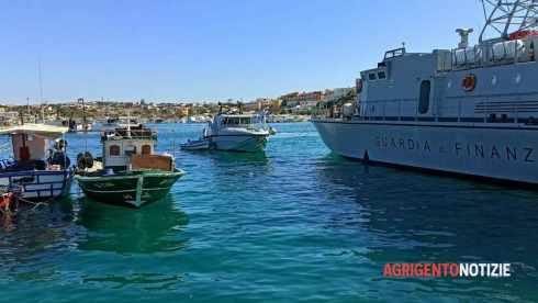 sbarchi di tunisini a Lampedusa