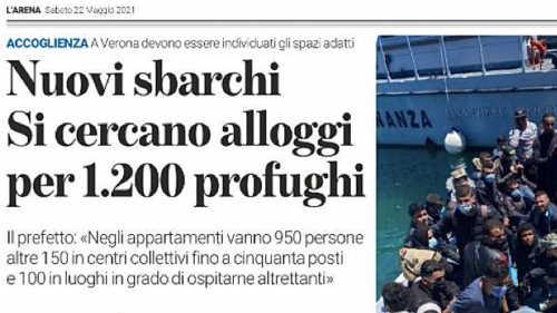 alloggi per 1200 profughi