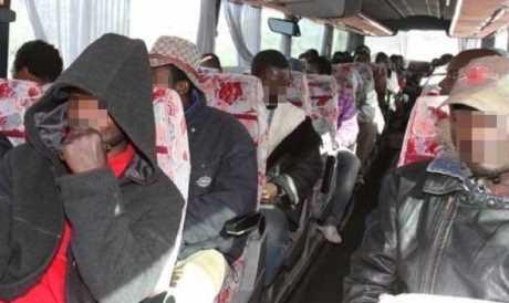 migranti volevano fuggire dall'Italia