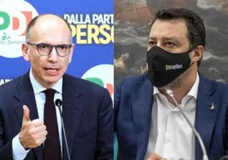 antifascista Letta e Salvini