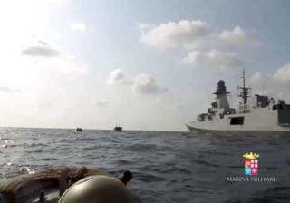 libia peschereccio italiano