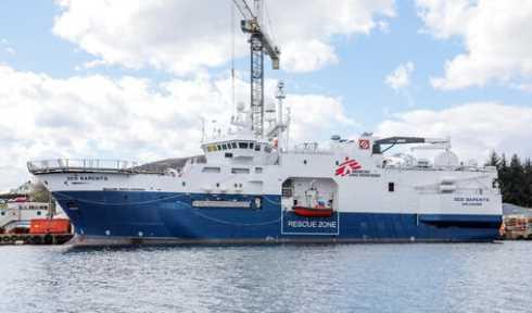 nave Medici Senza Frontiere
