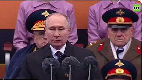 Putin contro l'ideologia nazista
