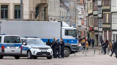 attacco con coltello a Erfurt