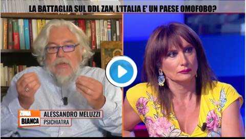 dibattito Tv sul Ddl Zan