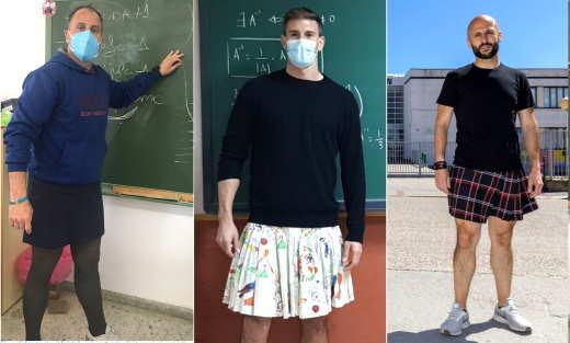 """a scuola con la gonna """"contro gli stereotipi di genere"""""""