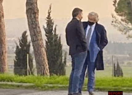 Renzi e Marco Mancini