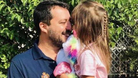 minacce di morte alla figlia di Salvini