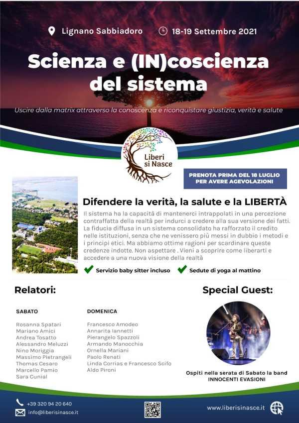Scienza e (in)coscienza del Sistema