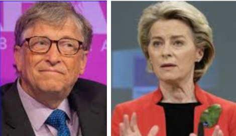 Bill Gates incontra Ursula von der Leyen