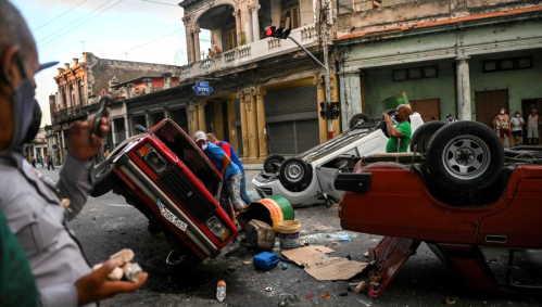 Cuba proteste di massa