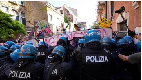 G20 venezia ambientalisti