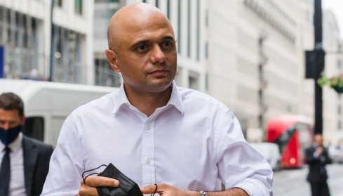 ministro britannico della Salute, Sajid Javid
