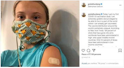 quando ti viene offerto un vaccino, non esitare