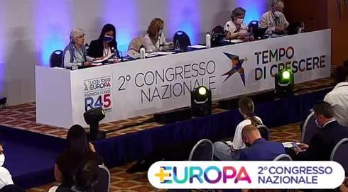 Letta al congresso di Più Europa
