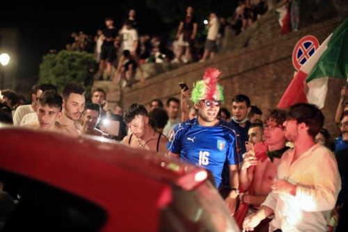 lucca L'Italia sbanca Wembley