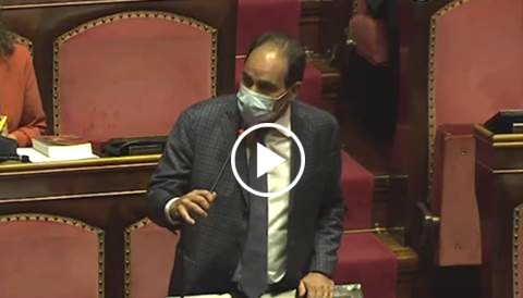 Marcucci Green pass per accesso all'Aula del Senato
