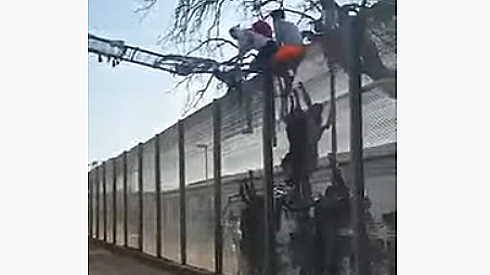migranti fuga di massa