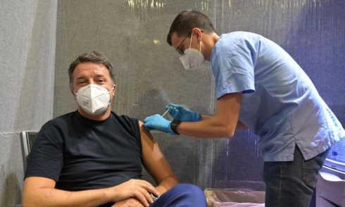 renzi vaccinato