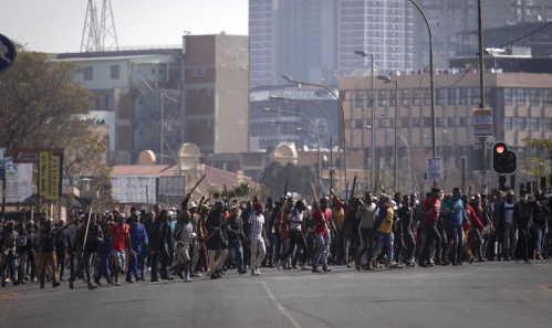 Rivolte in Sudafrica