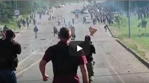 rivolta in sudafrica