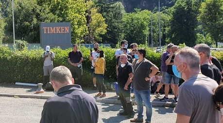 licenziati 106 lavoratori Timken