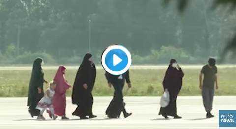 mogli e figli di jihadisti