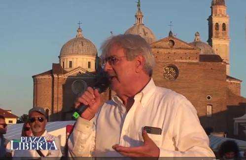 Armando Manocchia Manifestazione NO GREEN PASS Padova