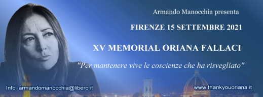 XI Memorial Oriana Fallaci