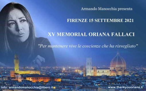 XV MEMORIAL ORIANA FALLACI