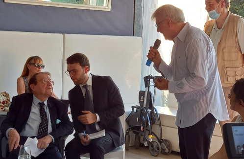 Luc Montagnier e Armando Manocchia