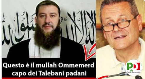 "Salvini ""capo dei talebani padani"""