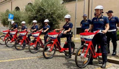 roma mezzi a disposizione della polizia locale