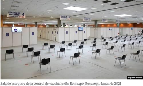 Romania: chiusi 400 centri di vaccinazione anti-Covid