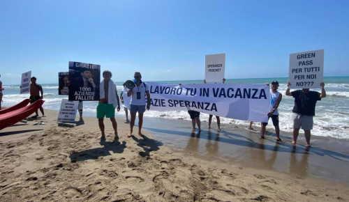 speranza in vacanza proteste