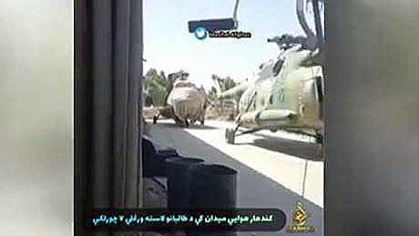 Aerei militari Usa in mano ai Talebani