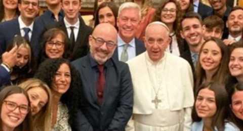 Bergoglio riceve Cingolani