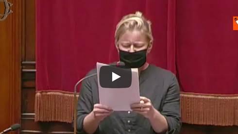 Sara Cunial paragona il Green pass alla Shoah