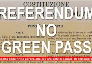 Referendum contro il Green Pass