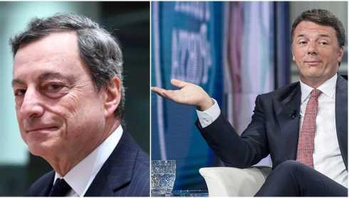 Renzi e Draghi guida europea
