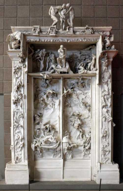 Porta dell'Inferno di Rodin