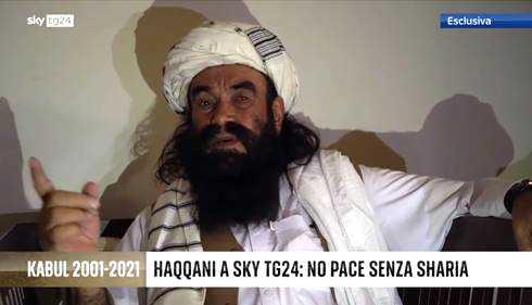 Ibrahim Haqqani governo basato sulla sharia