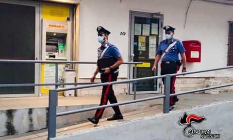 carabinieri anziana positiva