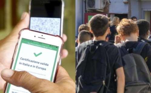green pass obbligatorio per gli studenti